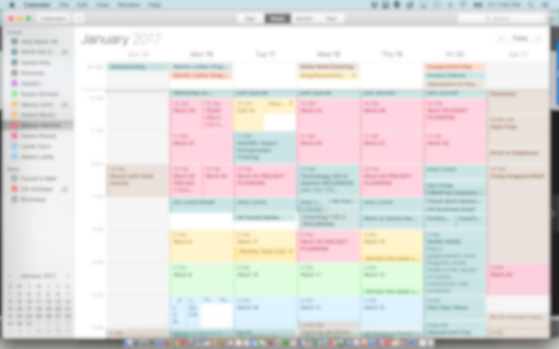 My Calendaring Process