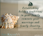 Creating Our Own Family Traditions