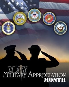 Welcome to National Military Appreciation Month