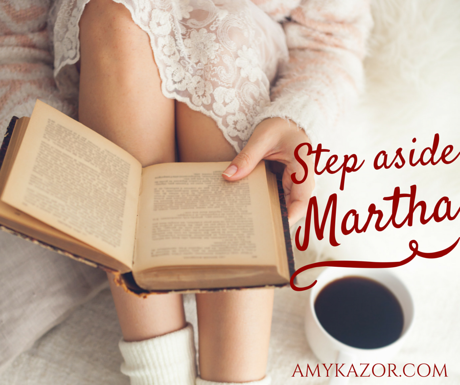 Martha, Martha: Preparing to Keep My Heart Right This Christmas